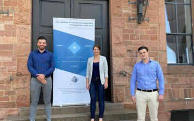 Digitalstrategien mit Staatsministerin Judith Gerlach –  Zu Besuch bei DocEstate