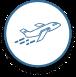 Icon Flugzeug Start